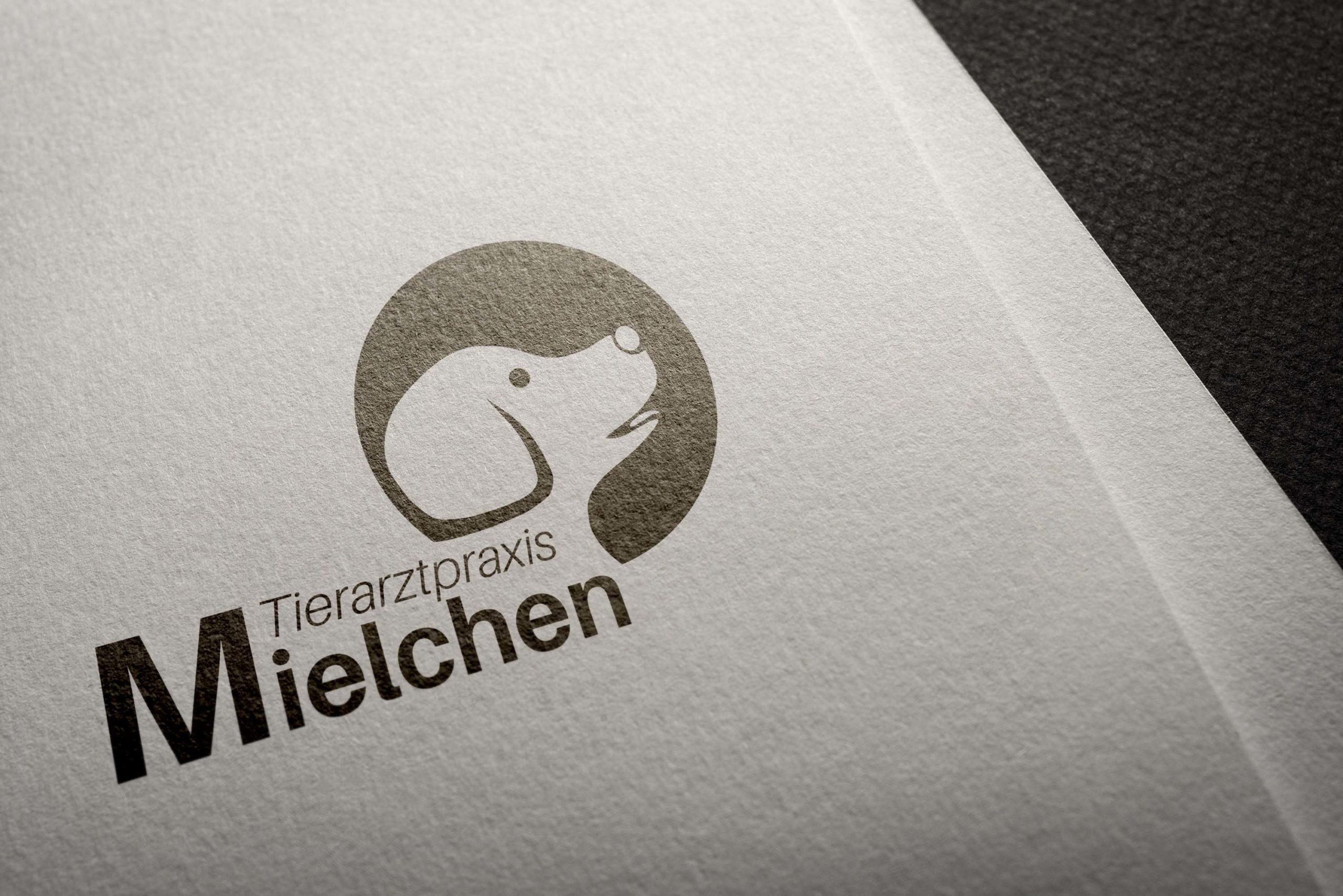 Logodesign Tierarztpraxis Mielchen
