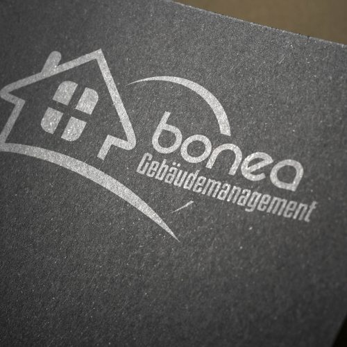 Logodesign Bonea Gebäudemanagement